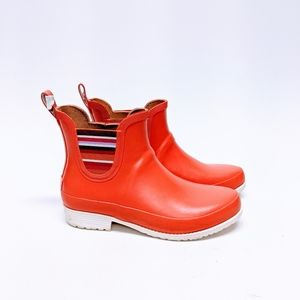 L.L. Bean Wellie Rain Boots Pull On sz 9